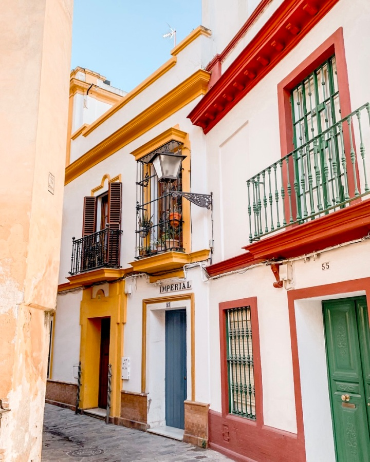 Postcards From Seville,Spain.